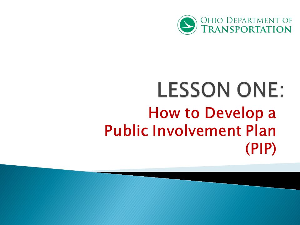 Why do we need Public Involvement.