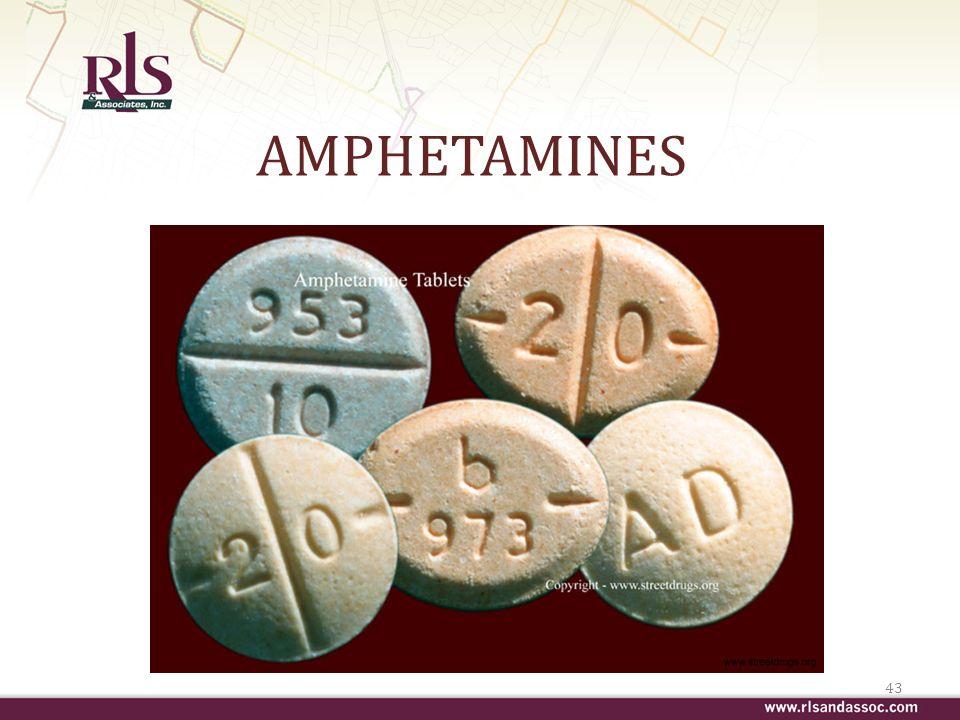 AMPHETAMINES 43