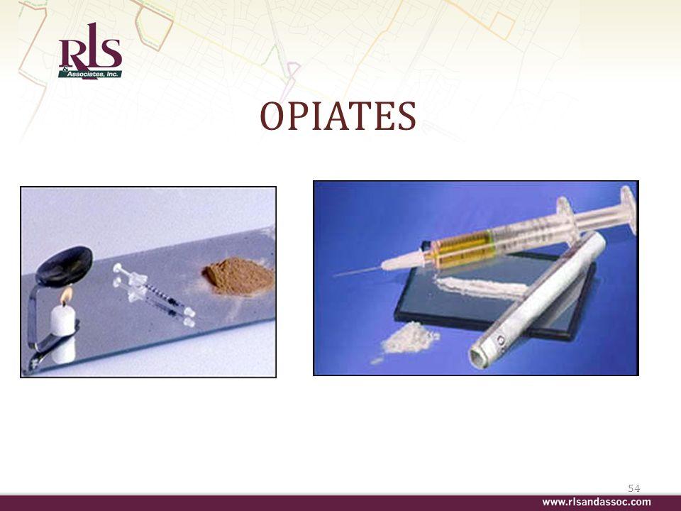 OPIATES 54