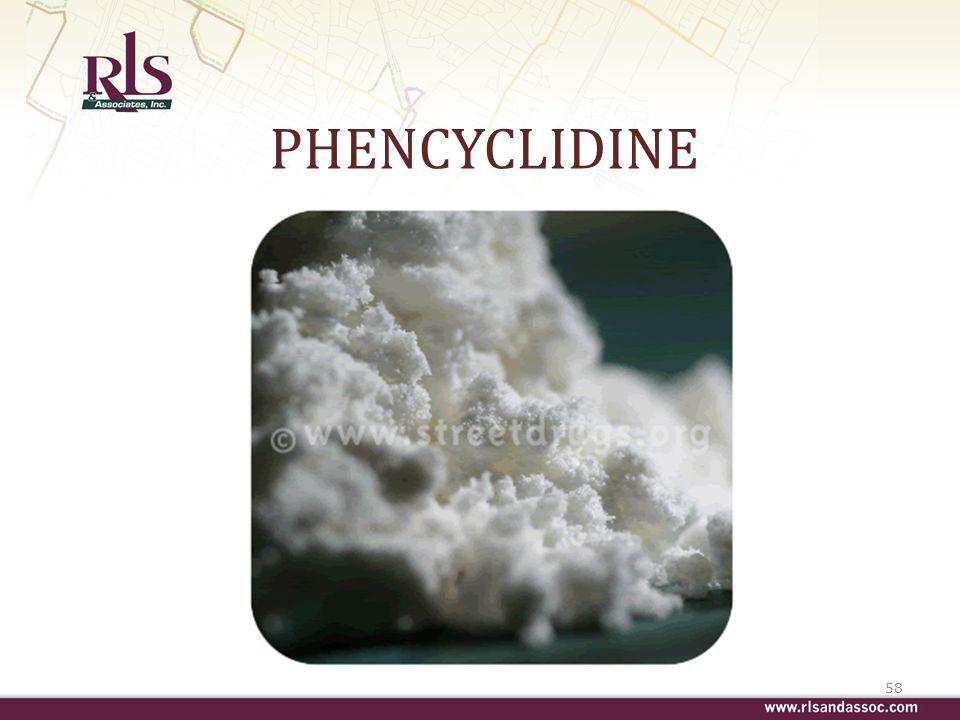 PHENCYCLIDINE 58