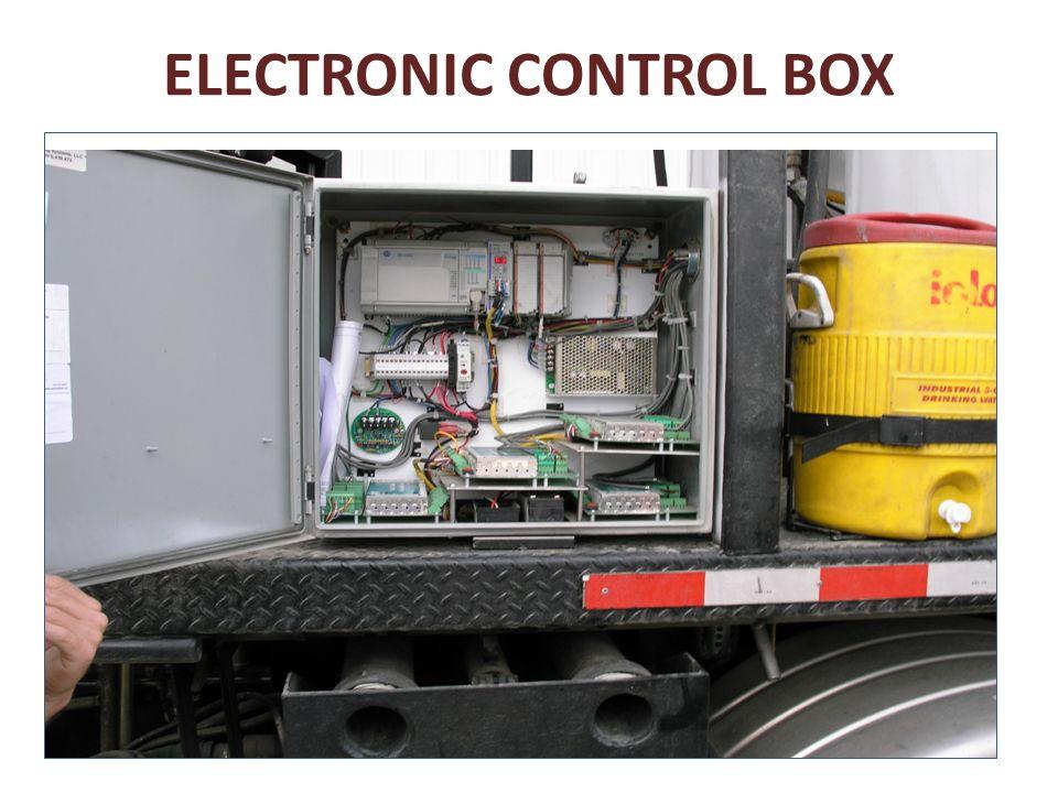 ELECTRONIC CONTROL BOX