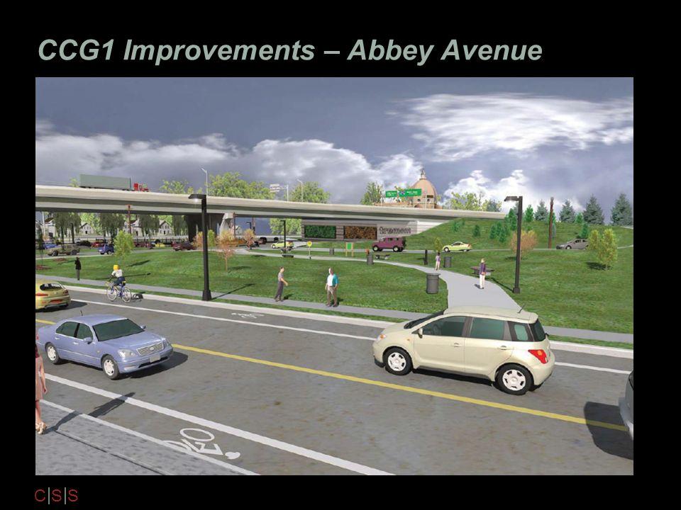 C S S CCG1 Improvements – Abbey Avenue