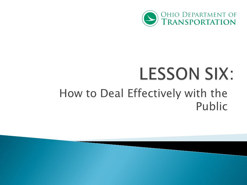How to Deal Effectively with the Public