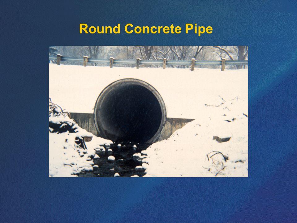 Round Concrete Pipe