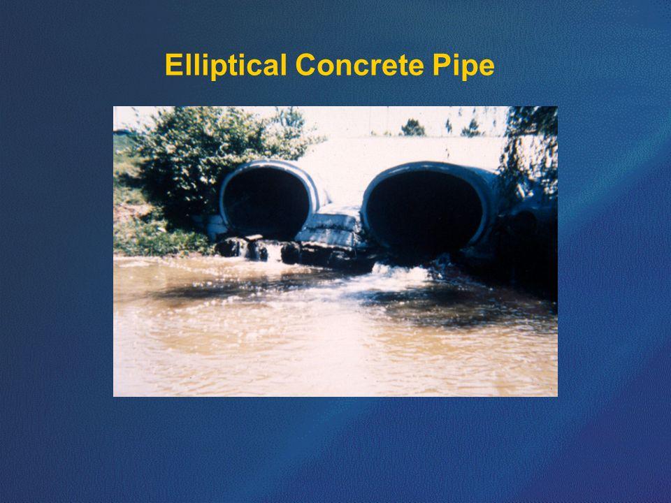 Elliptical Concrete Pipe