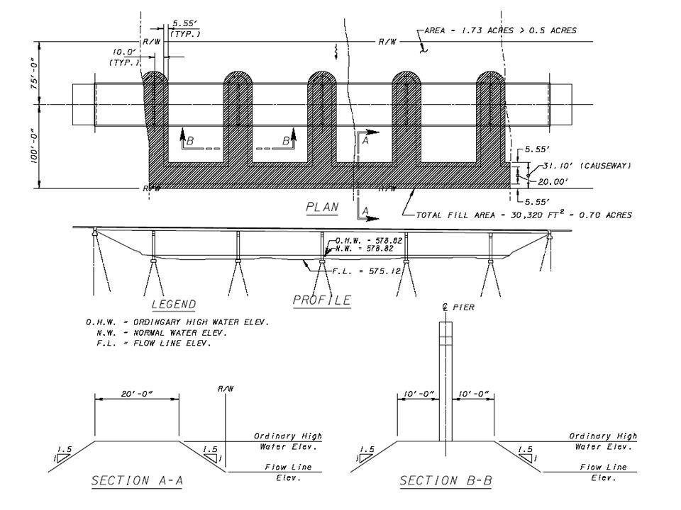 Prestressed Beam Camber Plans shall include: Camber @ release: (B-C) Camber @ erection: (1.8B-1.85C) Long term Camber: (2.45B-2.40C)
