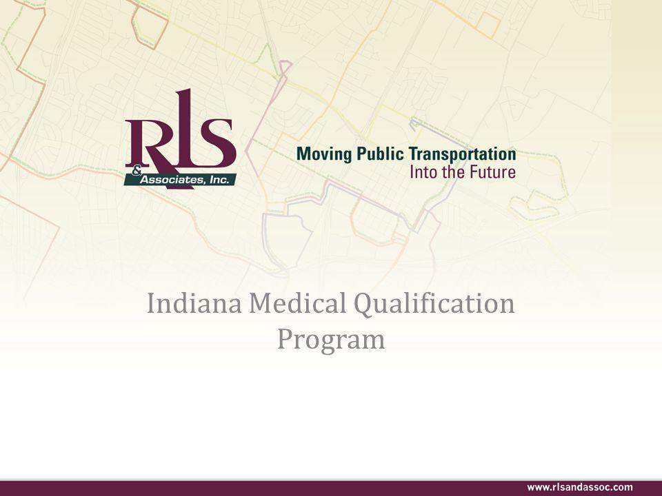 Indiana Medical Qualification Program