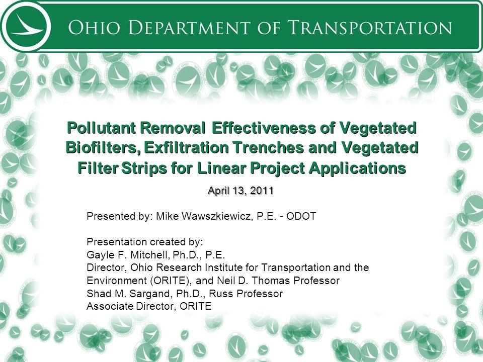52 Pervious concrete layer ODOT/Ohio University Post-Construction BMP Research