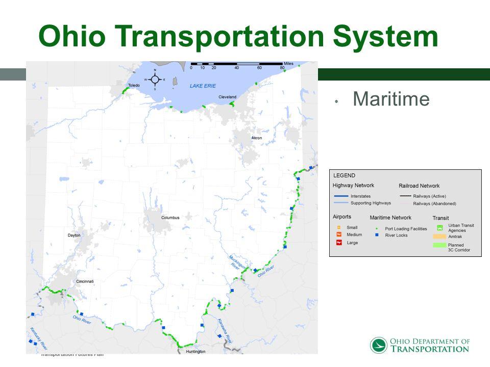 Ohio Transportation System Maritime Rail