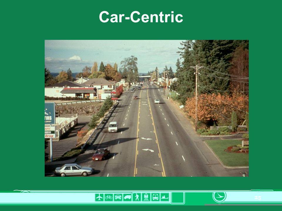 25 Car-Centric