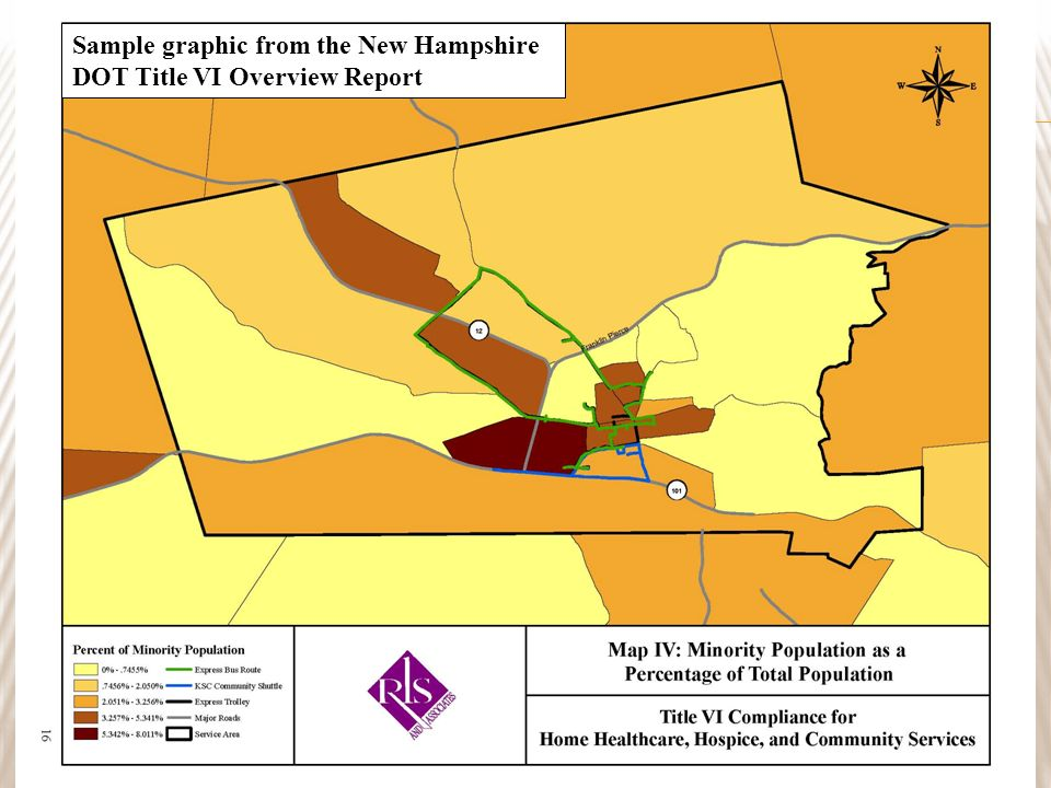 20 Sample graphic from the New Hampshire DOT Title VI Overview Report