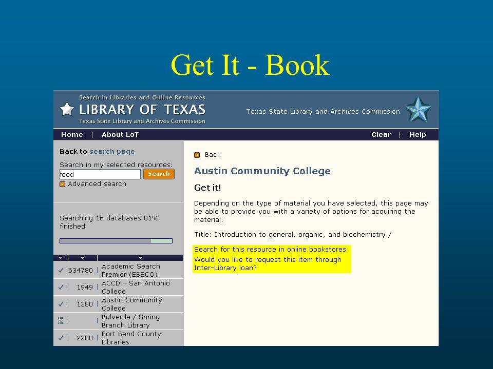 Get It - Book