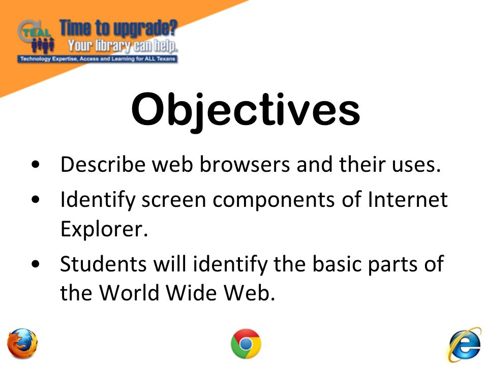 Internet Explorer From the Top Down Favorites Bar: Provides an easy way to add a web site to your favorites bar and updates you when your favorite links are updated.