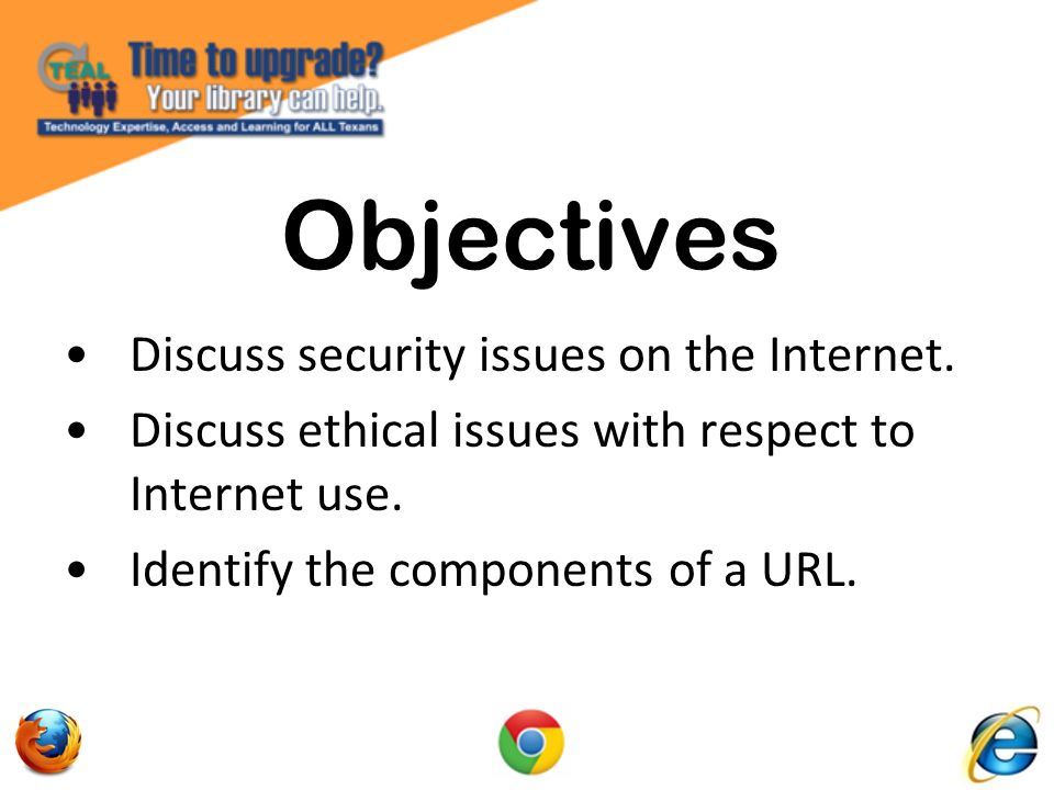The Bits & Pieces of a URL / Web Address hypertext transfer protocol = Protocol used for all files on the web.