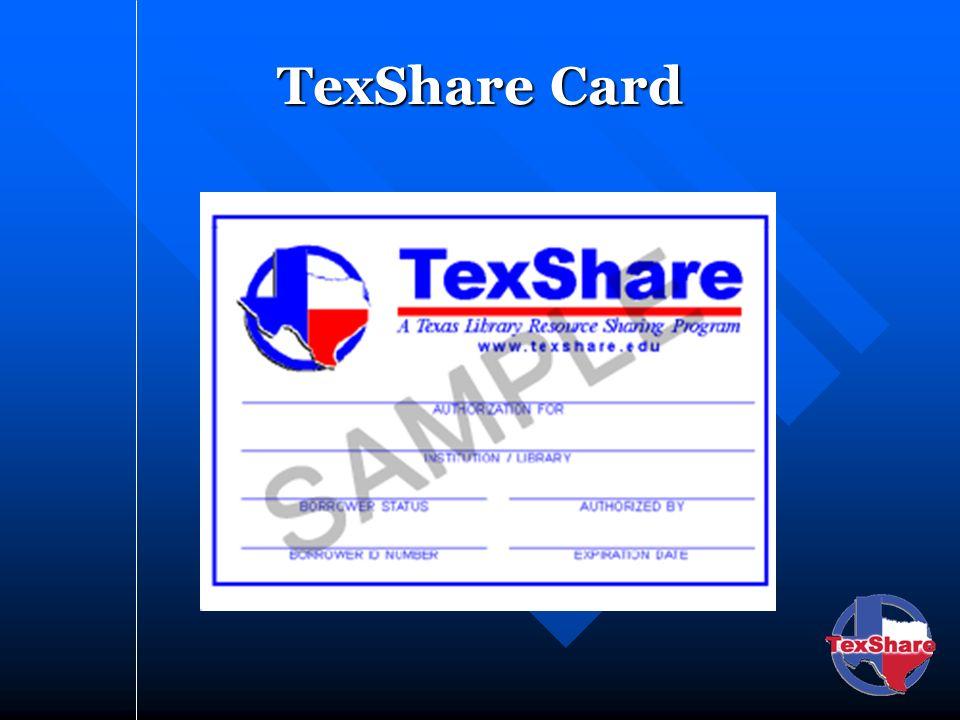 TexShare Card