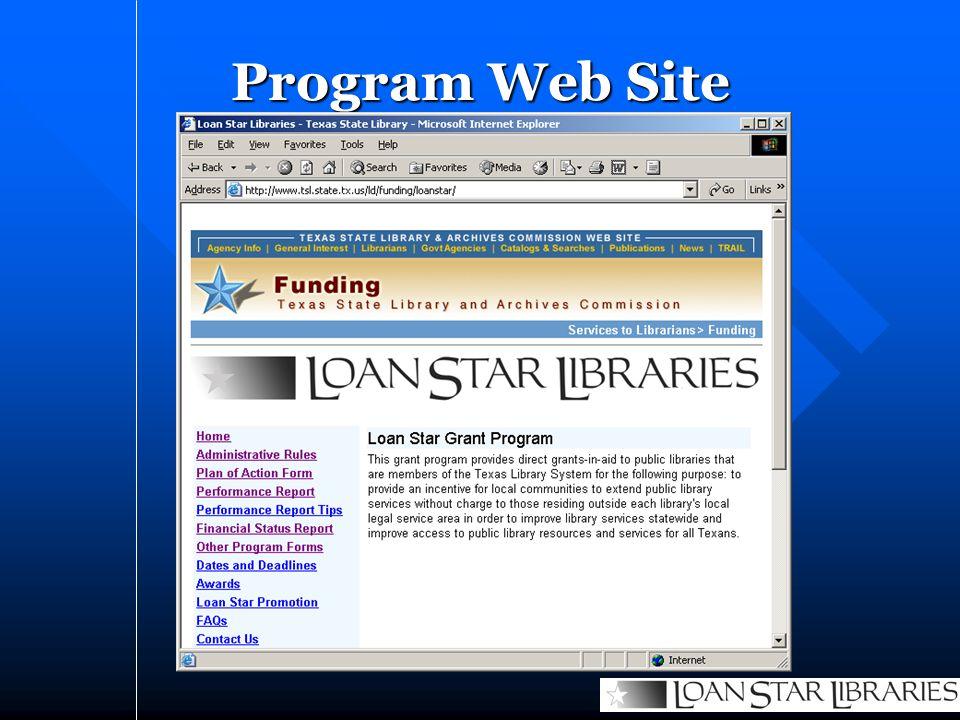 Program Web Site