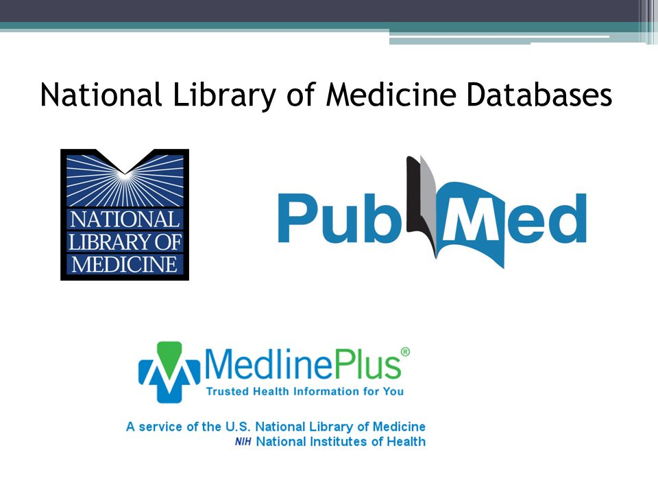 National Library of Medicine Databases