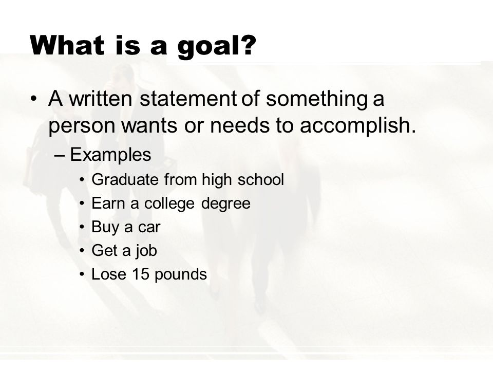 Why Set Goals.Would you set out on a cross-country adventure without a road map.