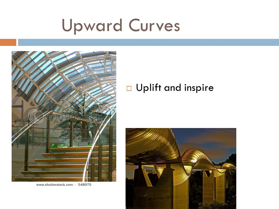Upward Curves Uplift and inspire