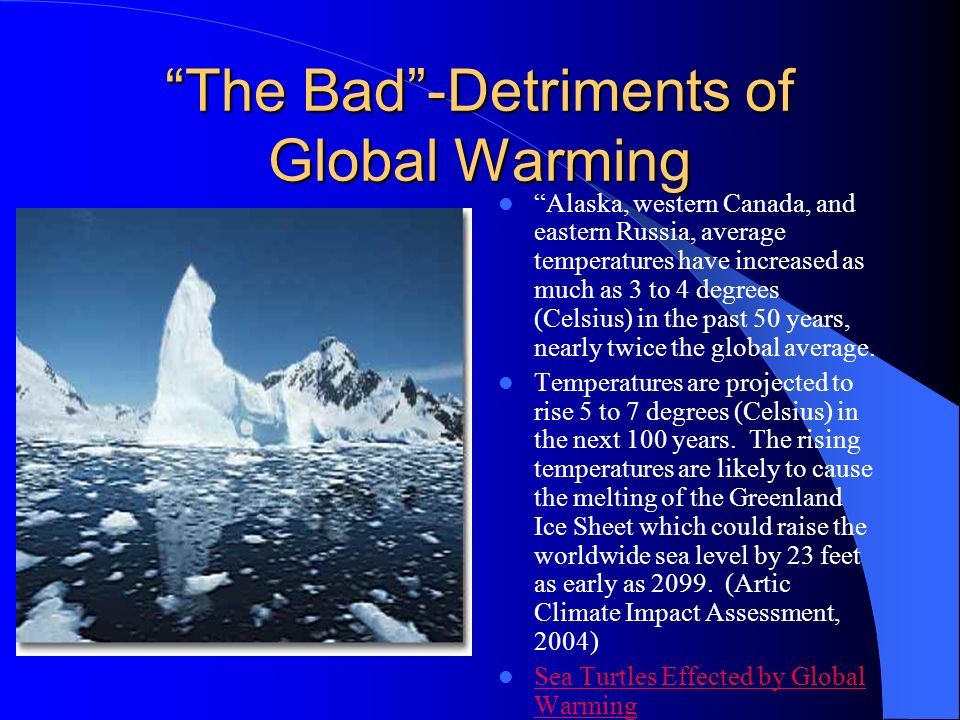 Unknown Effects of Possible Solutions Mankind has already harmed Earths climate inadvertently, so its foolish to think that people can now fix it with a few drastic measures.