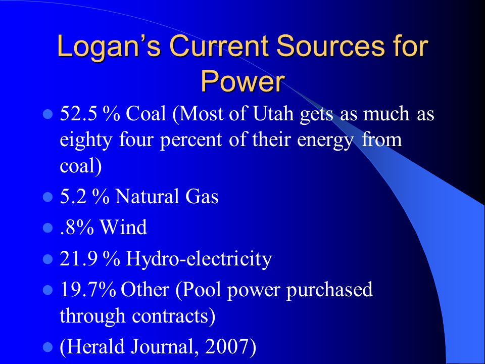 Logan City-No More Coal Logan City Mayor Randy Watts reaction after council members rejected a bill that would authorize the use of more coal power plants.
