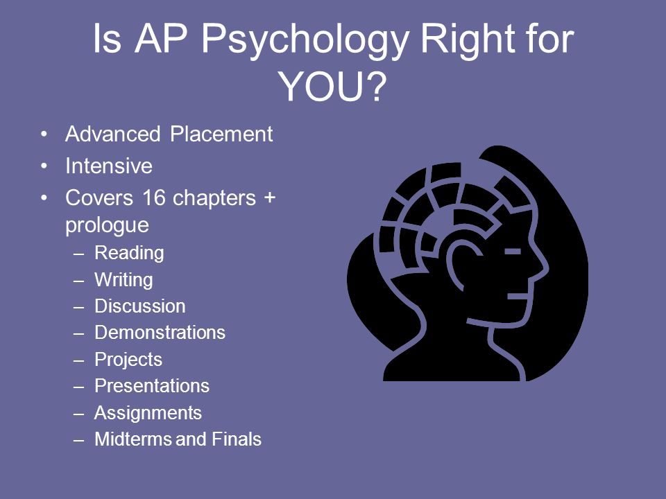 Is AP Psychology Right for YOU.