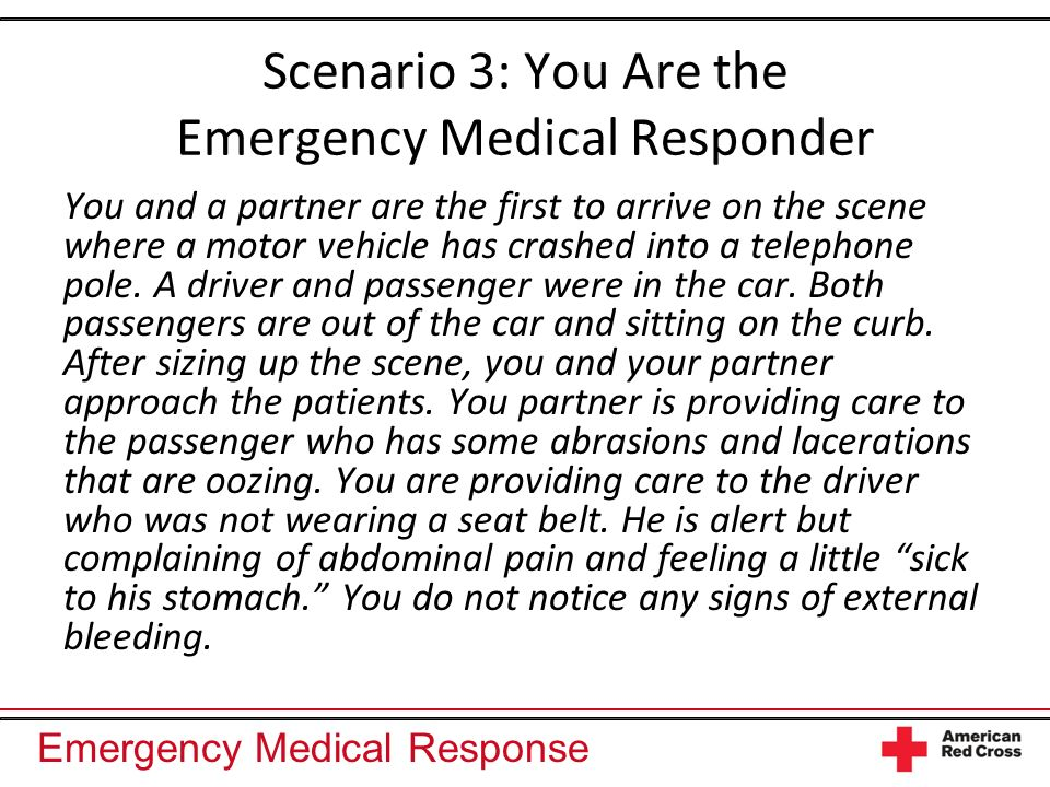 Emergency Medical Response Putting It All Together Shock (hypoperfusion) occurs when the cells ability to receive oxygenated blood is compromised.