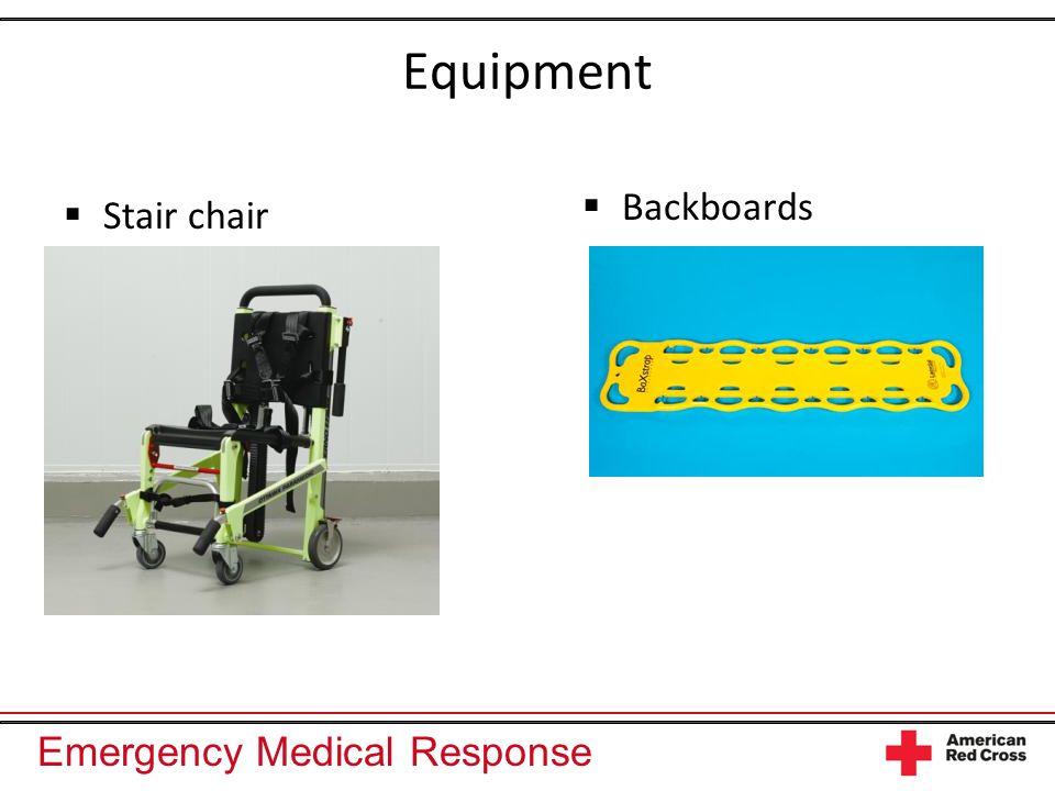 Emergency Medical Response Equipment Stair chair Backboards