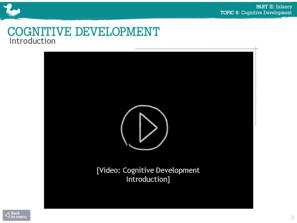3 Introduction [Video: Cognitive Development Introduction]