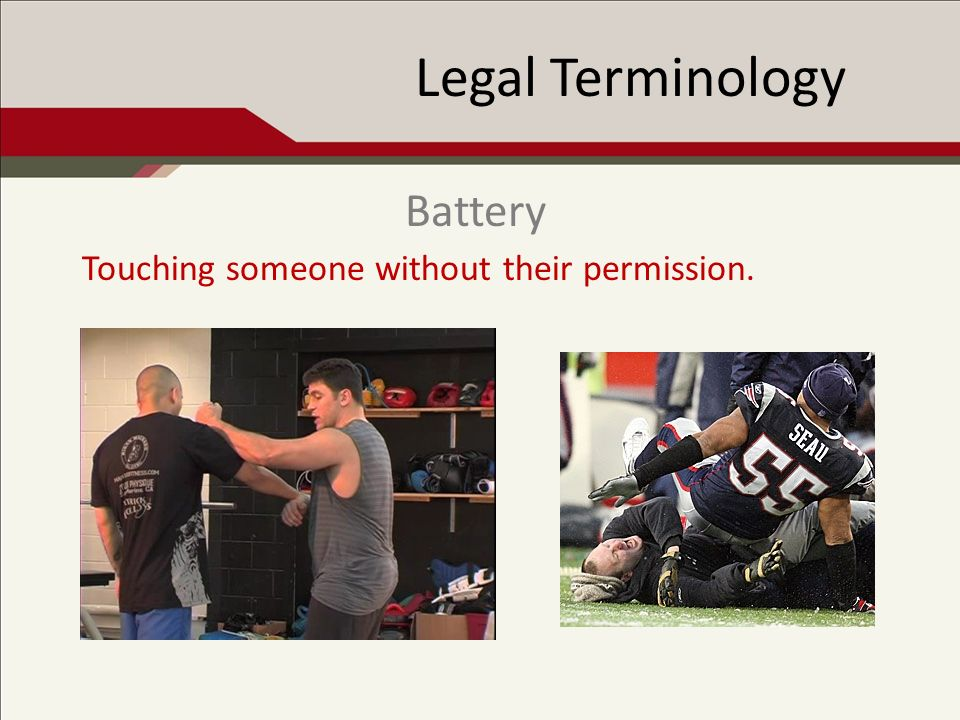 Legal Terminology Doing something (commission) or failing to do something (omission) that a reasonable person would or would not do under similar circumstances.