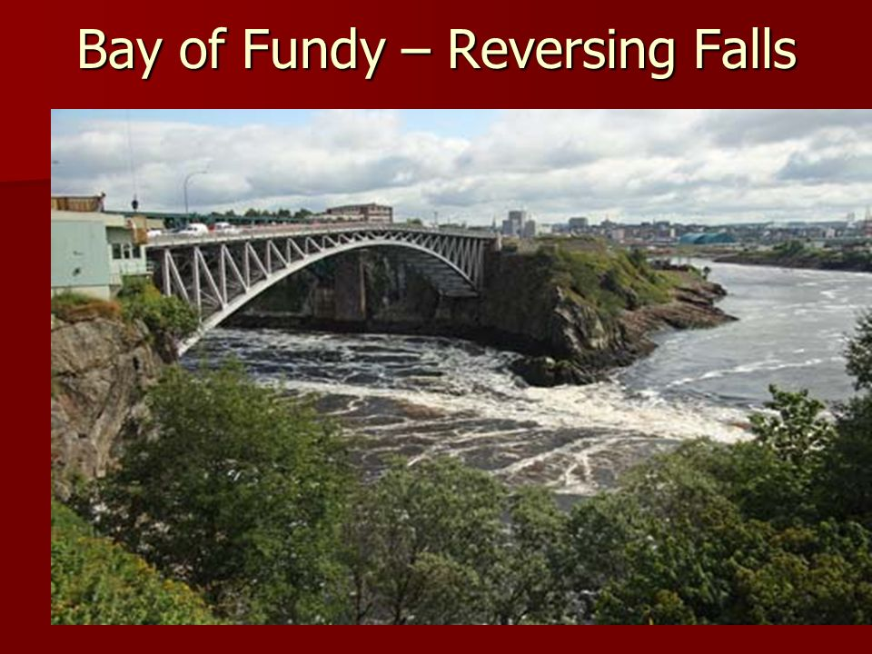 Bay of Fundy – Reversing Falls