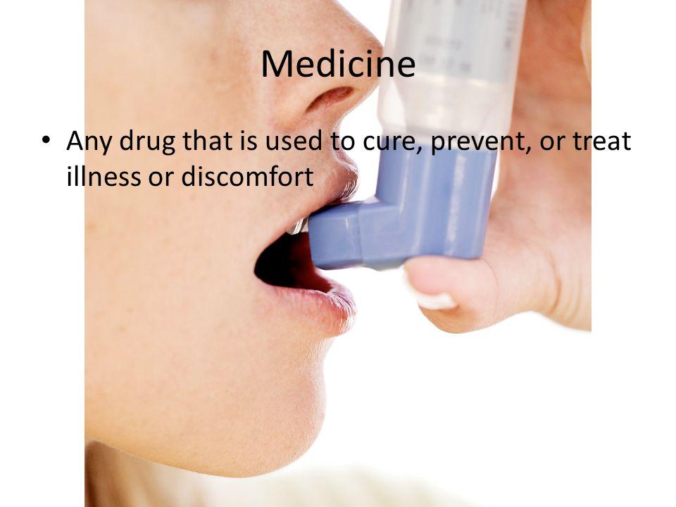 Prescription Medicine Written order from a doctor for a certain medicine or treatment