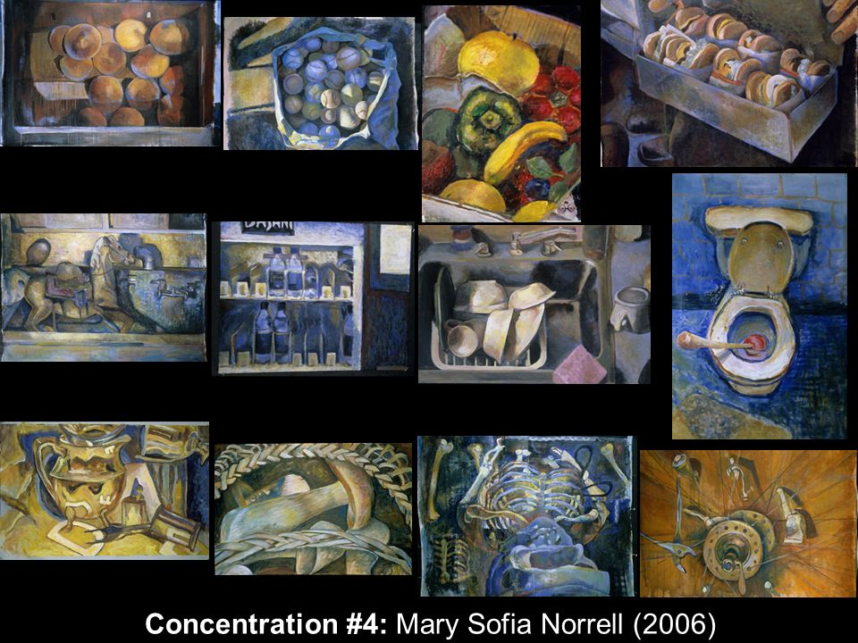 Concentration #4: Mary Sofia Norrell (2006)