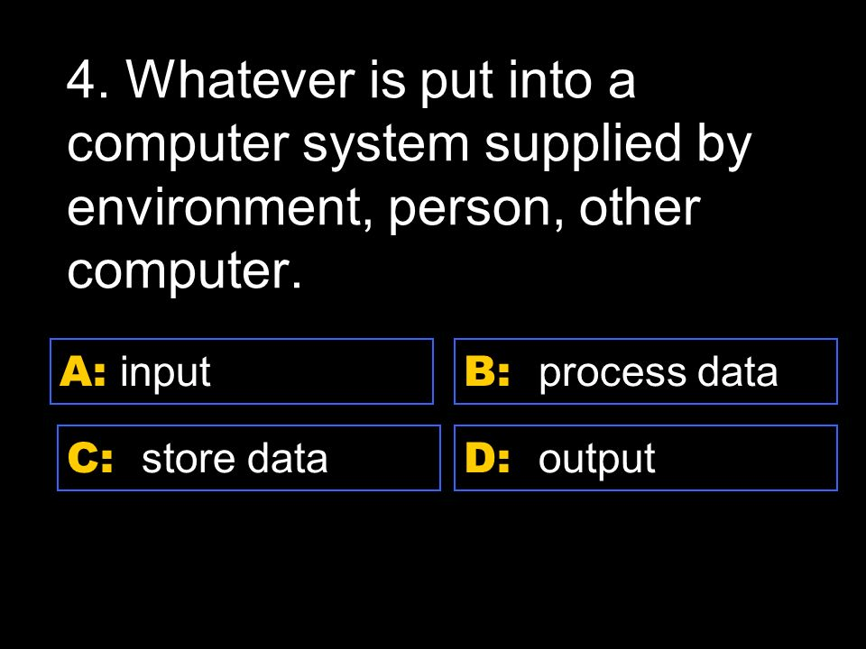 D: Ultra ATA A: Zip drive C: CD B: Zip disk 24.