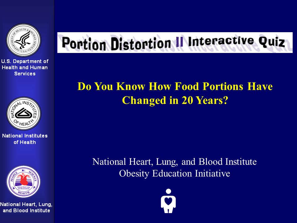 Do You Know How Food Portions Have Changed in 20 Years.