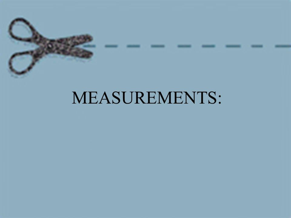 SI = International System of Units (standard system of measurement) You must always label measurements with the appropriate unit.