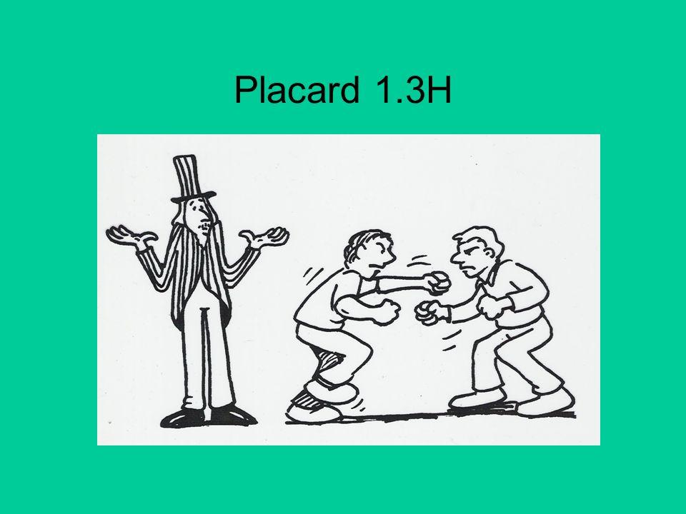 Placard 1.3H