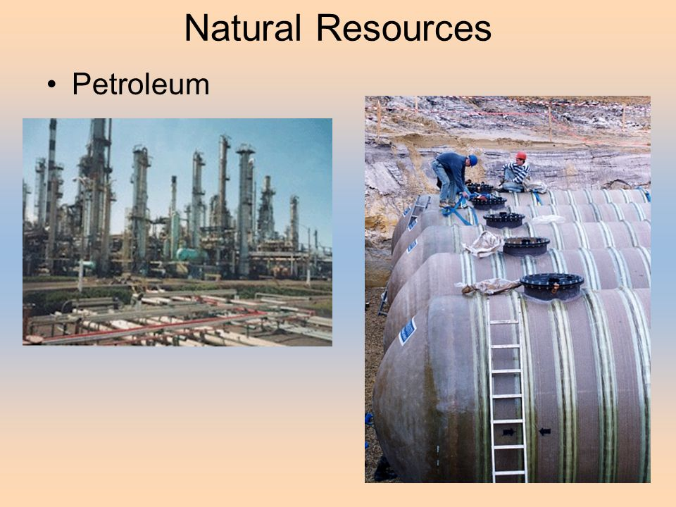 Natural Resources Petroleum