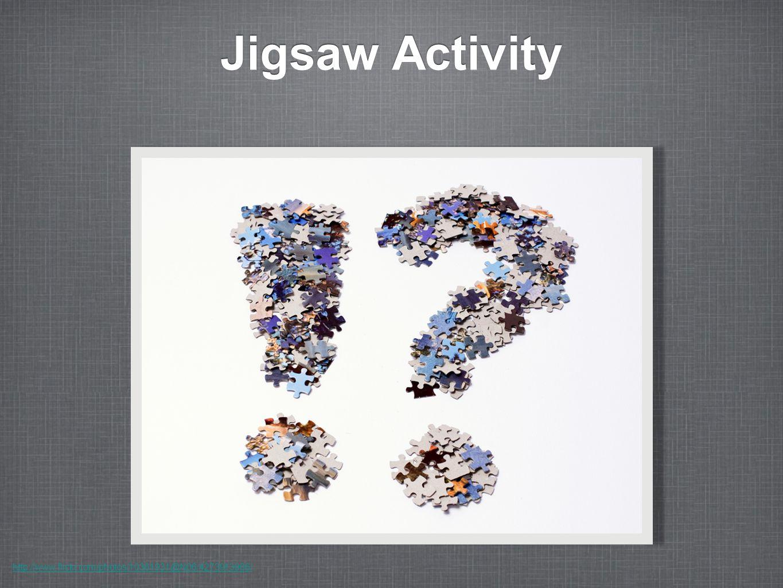 Jigsaw Activity http://www.flickr.com/photos/10361931@N06/4273913966/