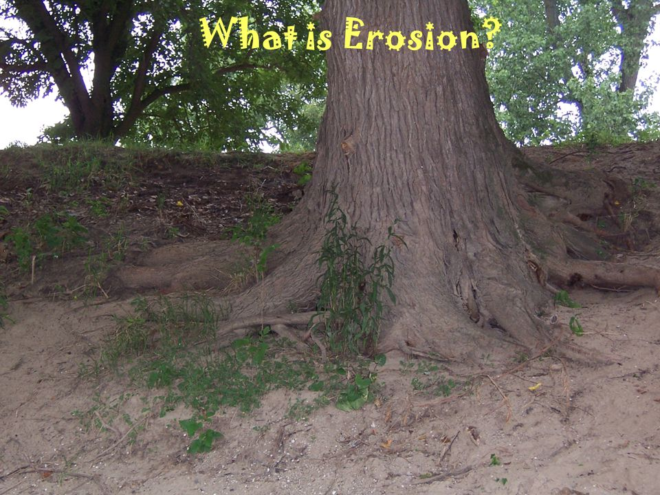 What is Erosion?