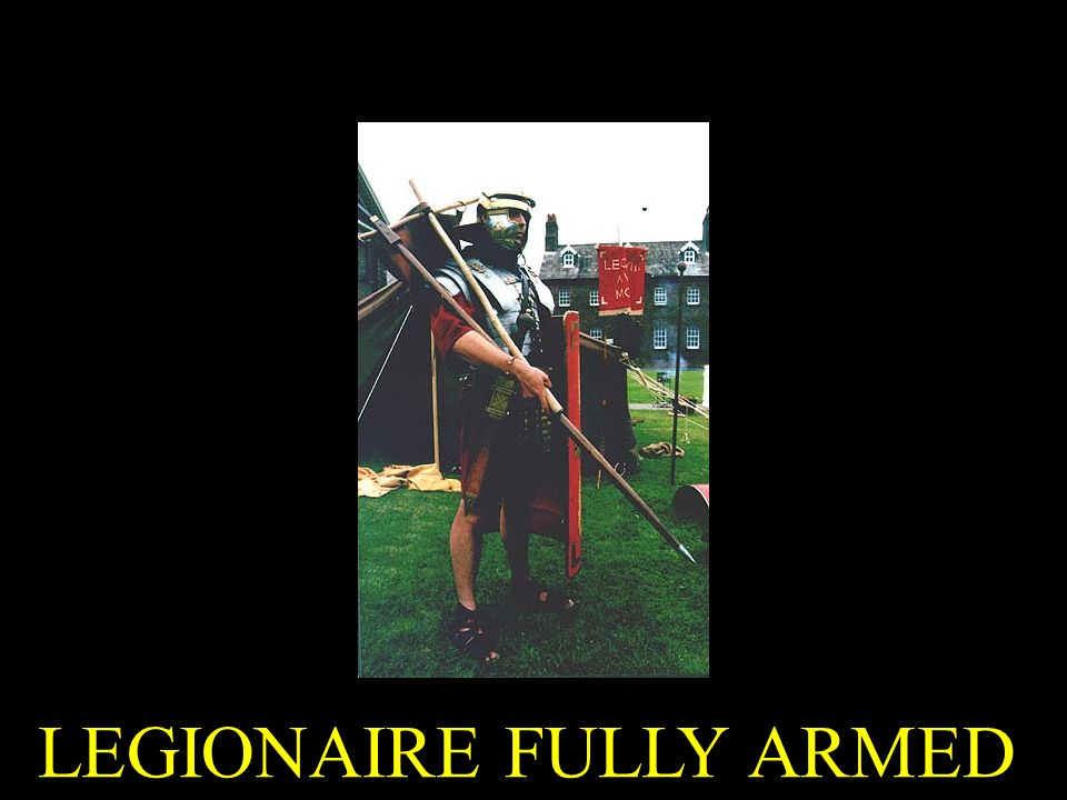LEGIONAIRE FULLY ARMED
