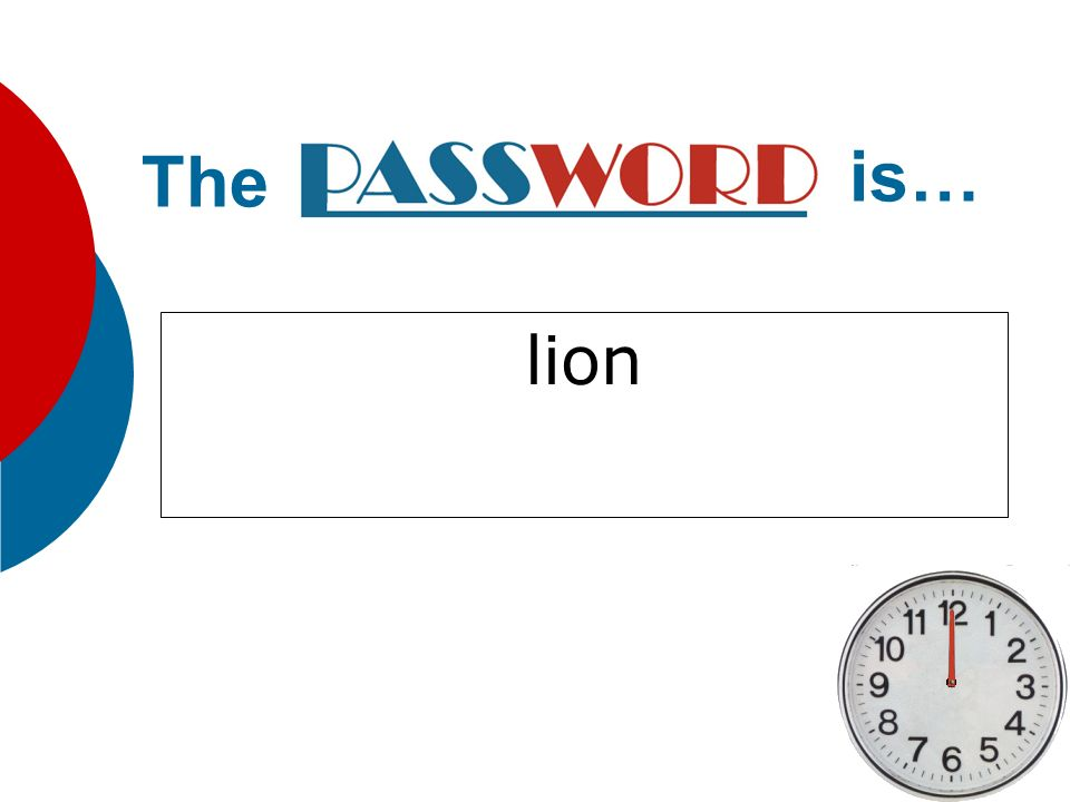 lion The is…