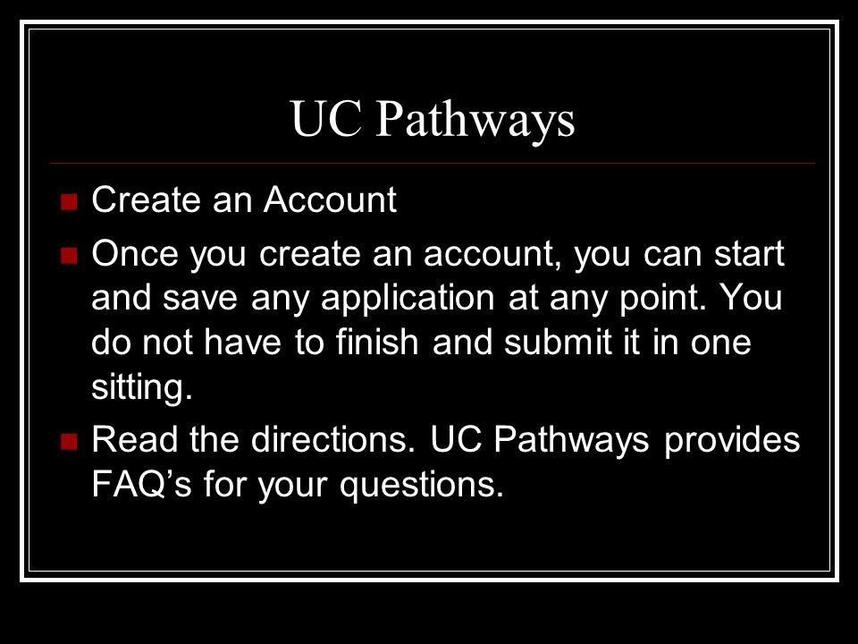 UC Fall 2009 Personal Statement Questions Directions Respond to both prompts (only need to respond to the 2 prompts), using a maximum of 1,000 words total.