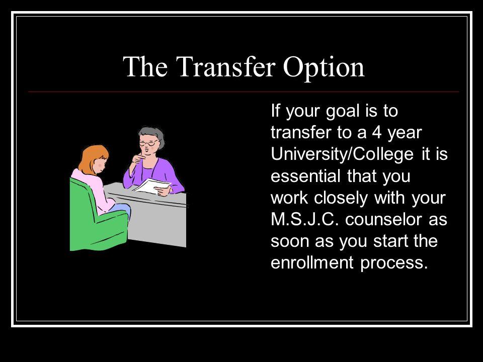 For a Complete List of Programs Go To www.msjc.edu/programs.htm