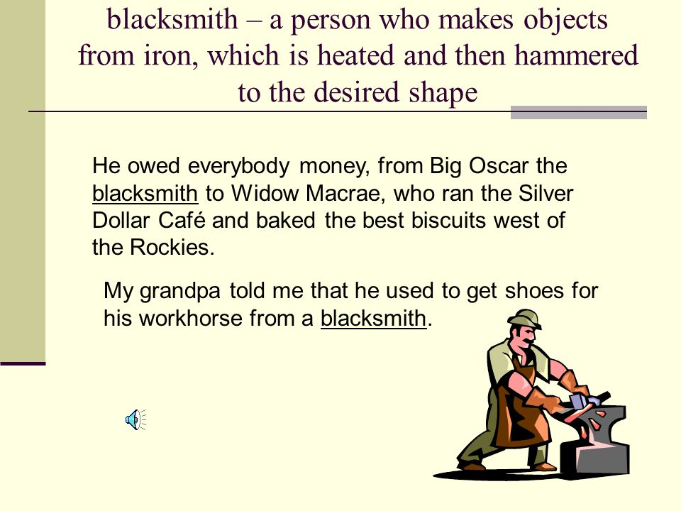 Four Dollars and Fifty Cents blacksmithcollectingdecent volunteered determined