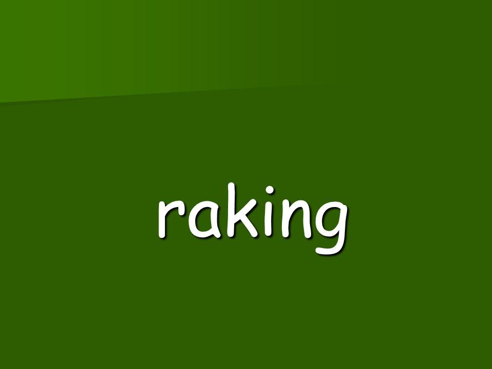 raked