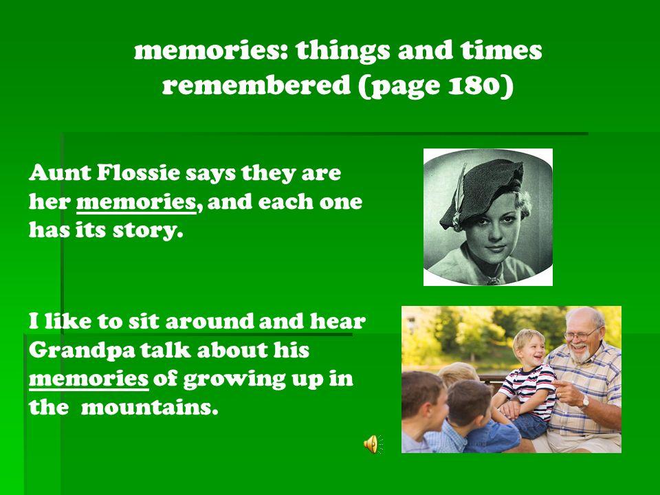 Aunt Flossies Hats memories trillionterrapins buglers rescue
