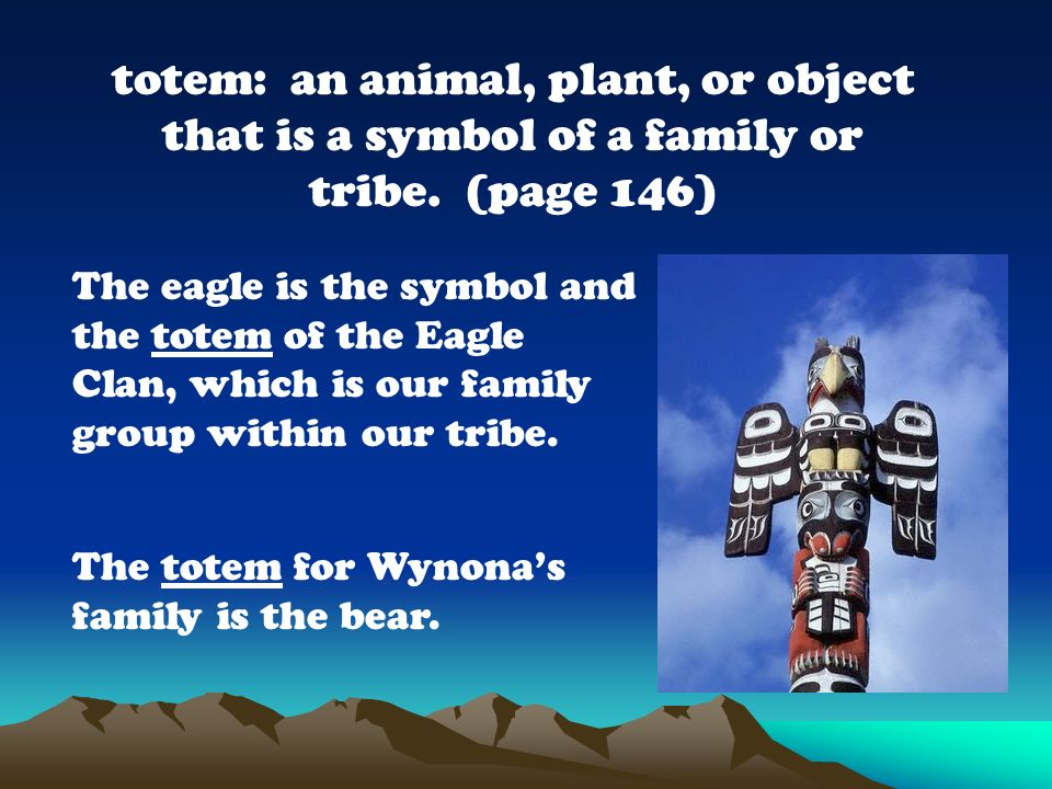The eagle is the symbol and the totem of the Eagle Clan, which is our family group within our tribe. My parents planted a tree when they moved into th