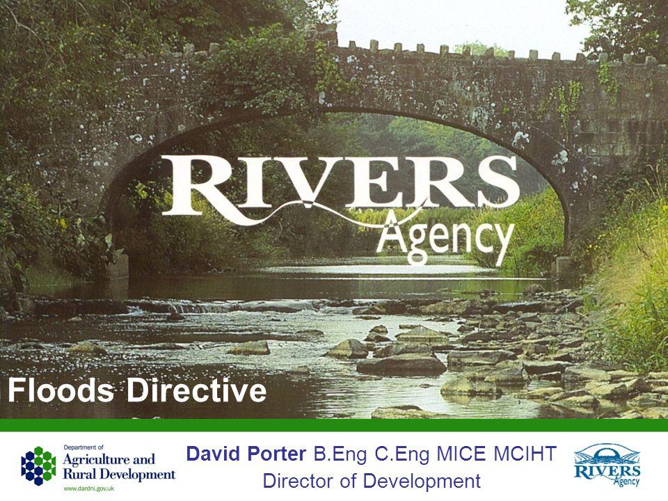 Floods Directive David Porter B.Eng C.Eng MICE MCIHT Director of Development
