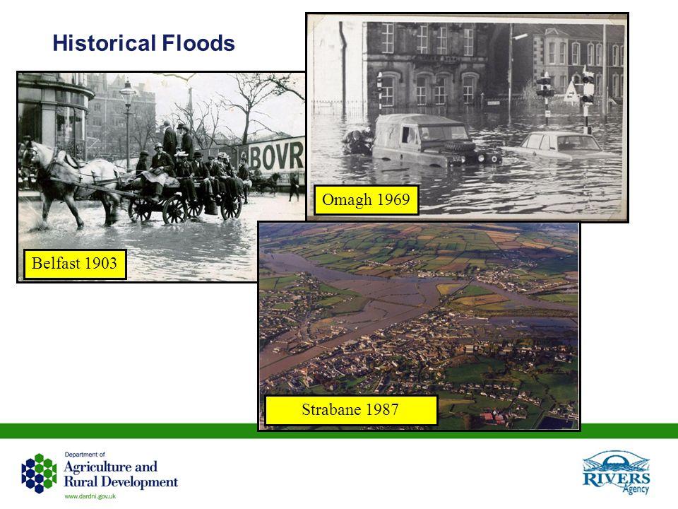 Historical Floods Belfast 1903 Omagh 1969 Strabane 1987